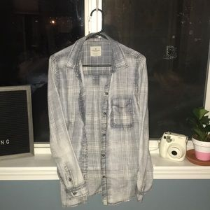 light wash flannel